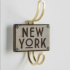 Anthro New York Tiled Hook